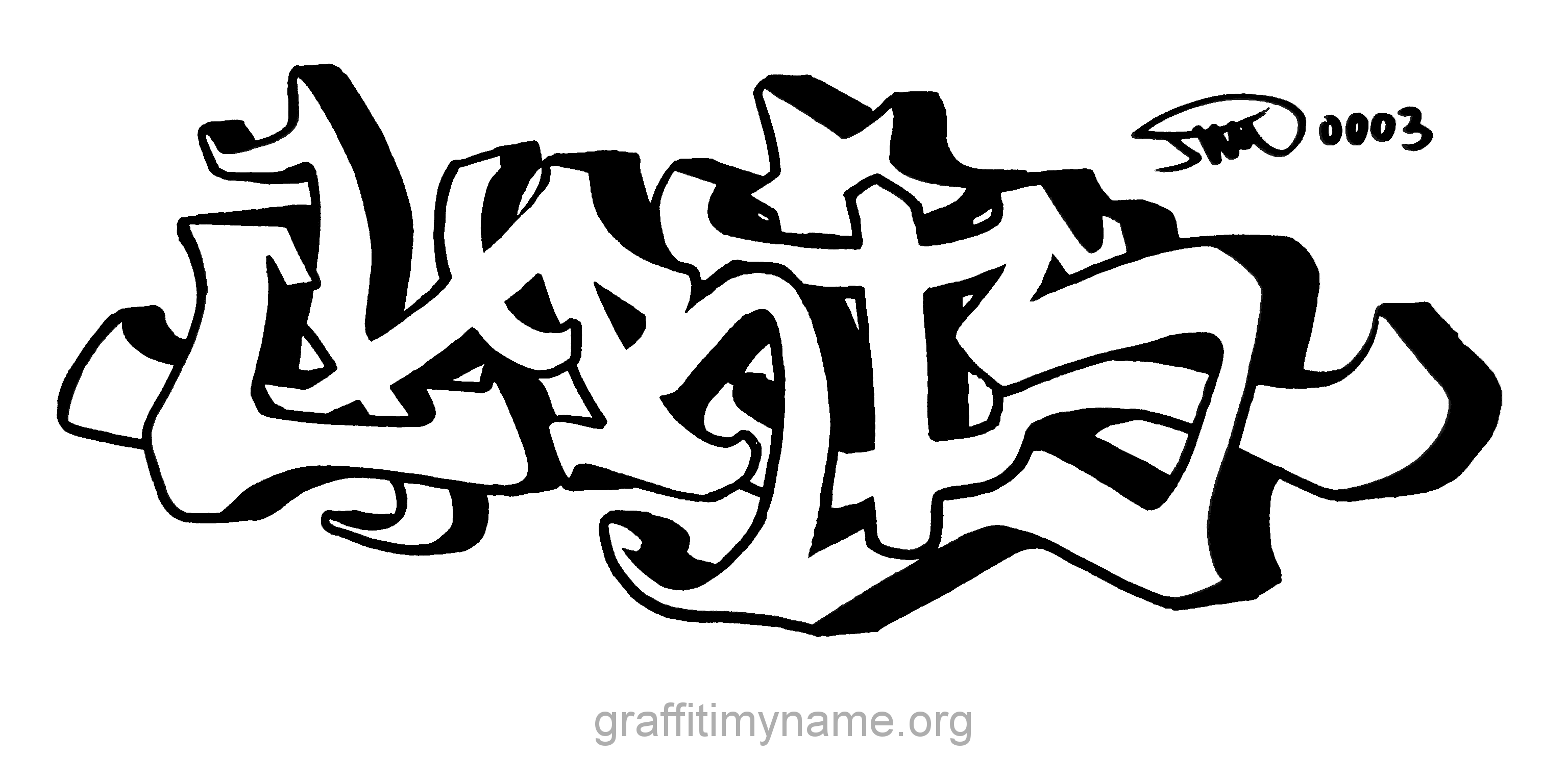 Chris In Graffiti
