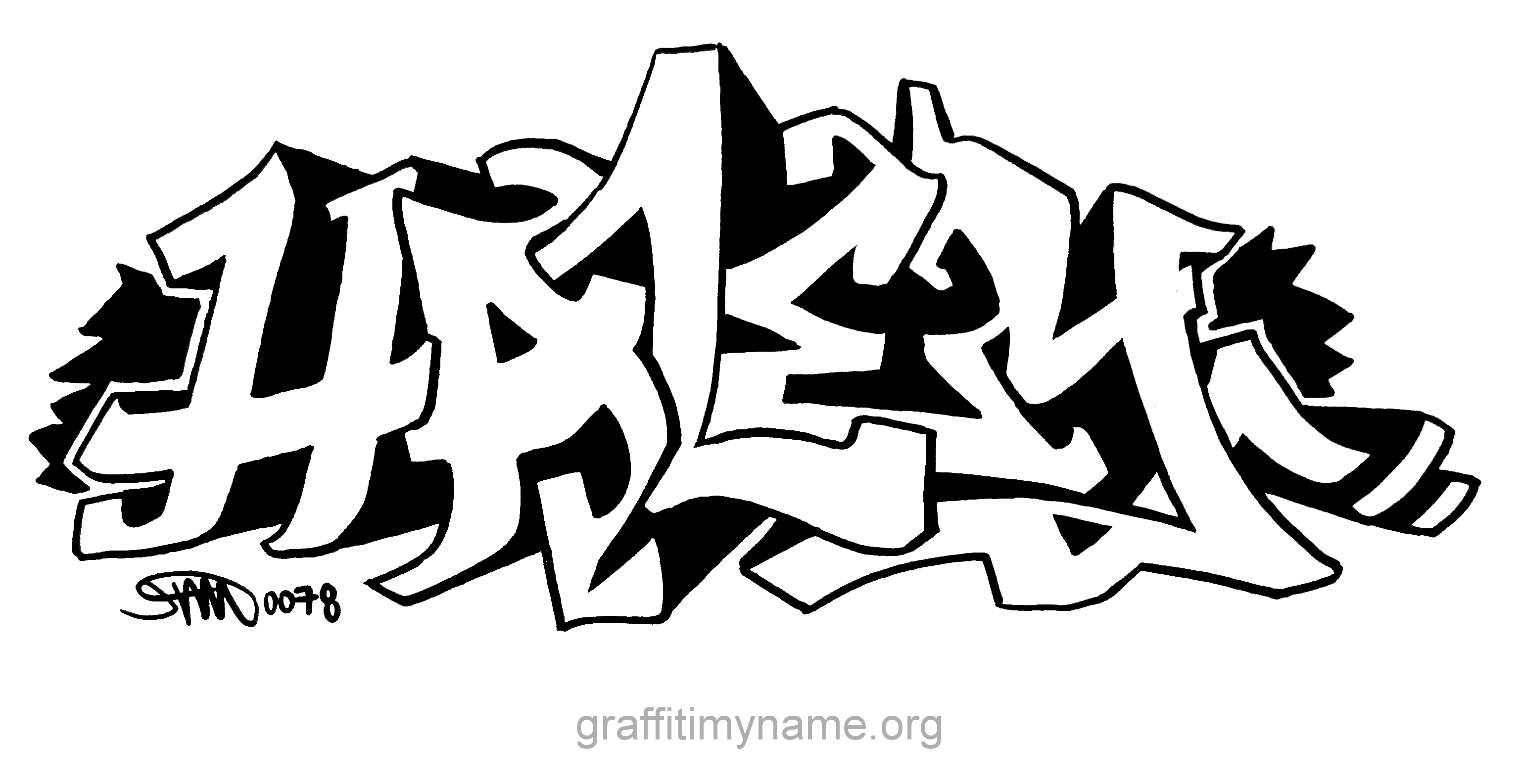 The Name Katherine In Graffiti