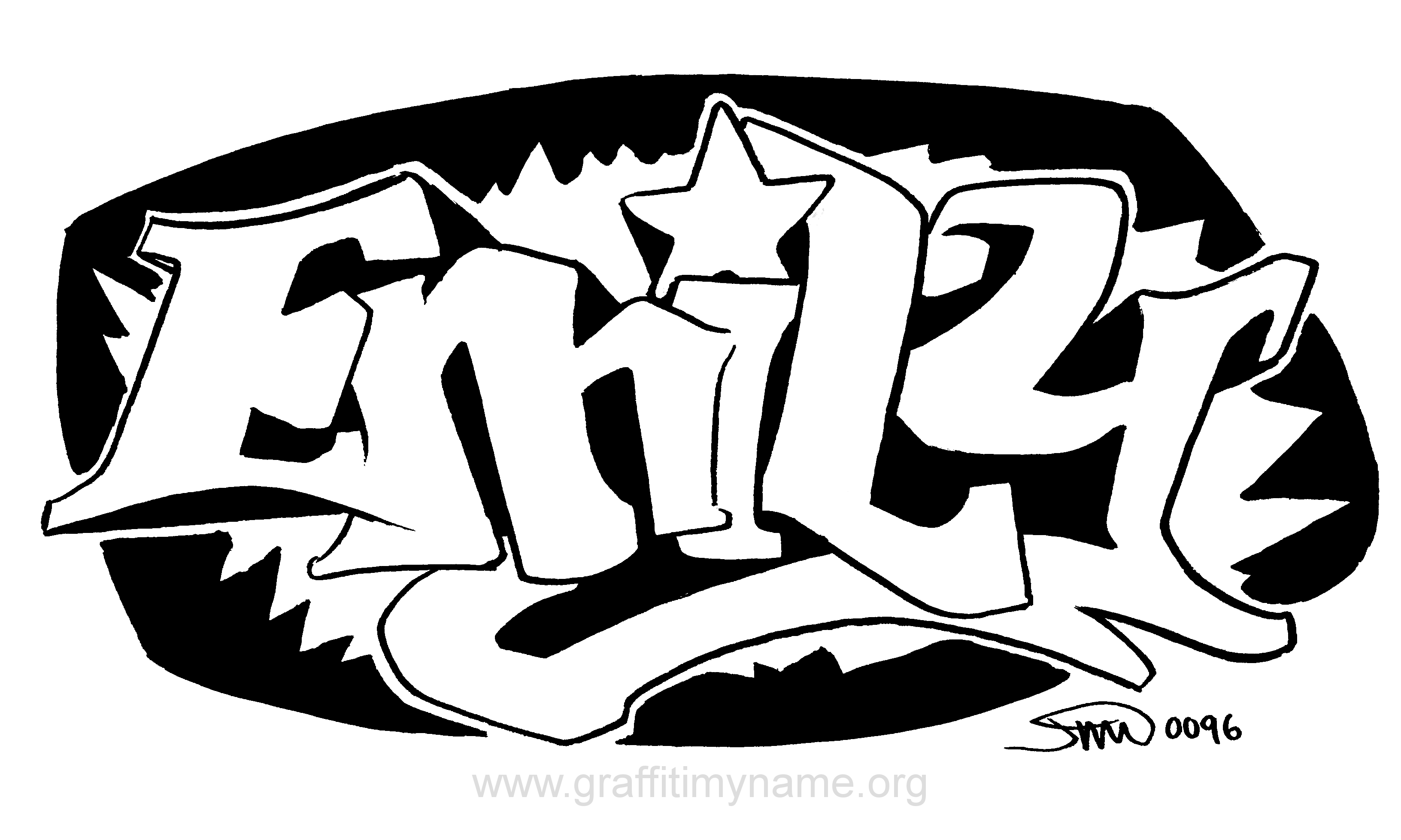 Image Result For Graffiti Coloring