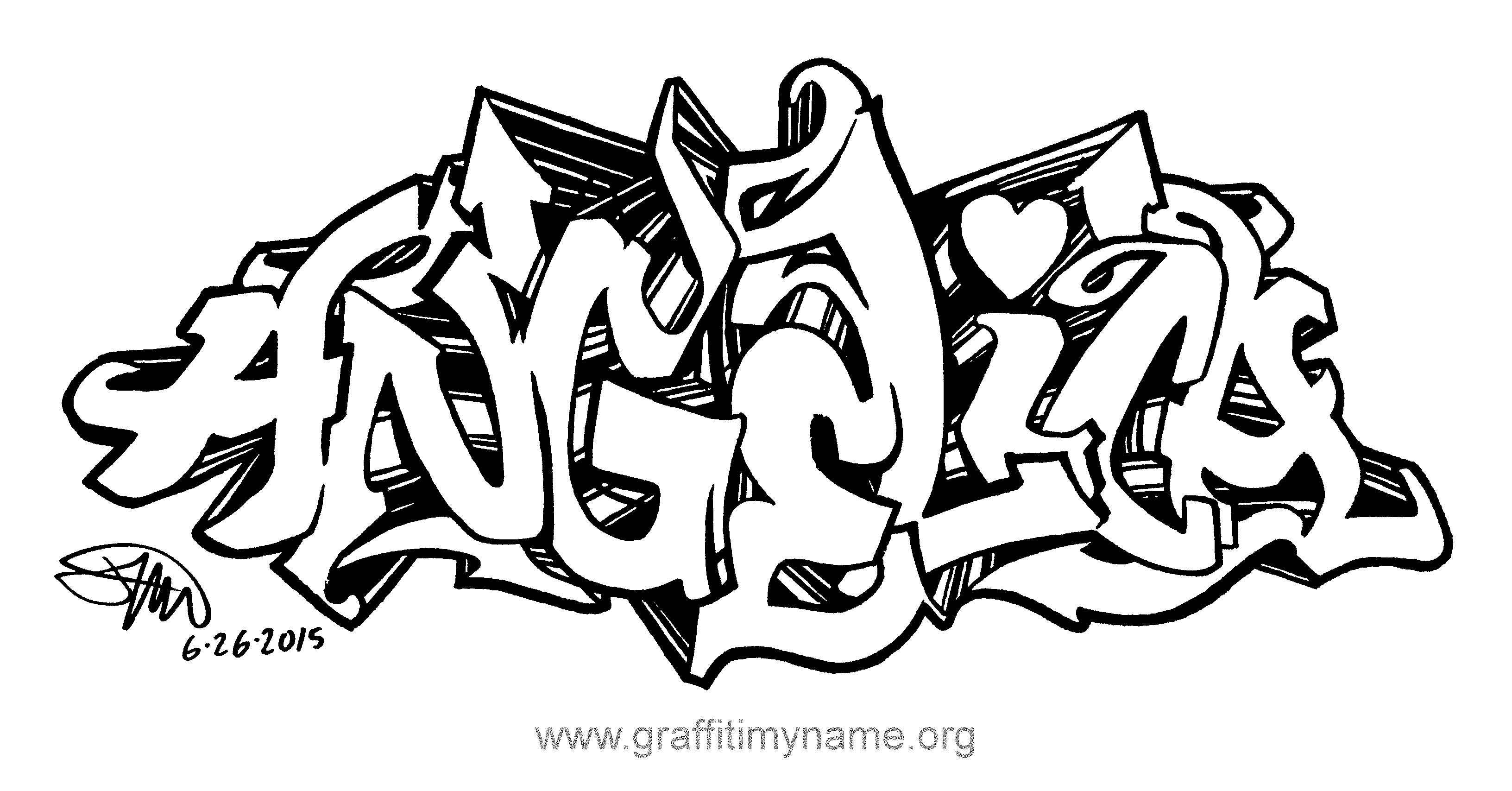 angelica - Graffiti My Name